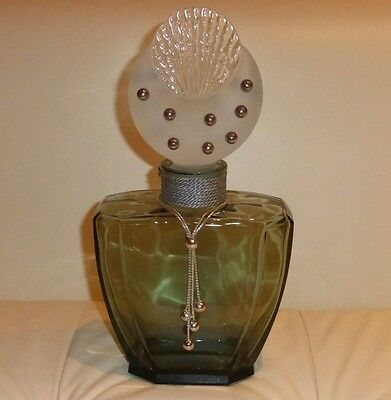 Cher Uninhibited Large Empty Glass Store Display Factice Perfume Bottle 12""