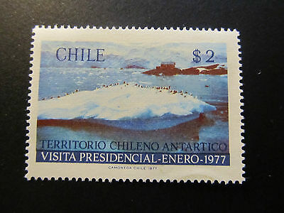 1977 - Chile - View Of Antarctica - Scott 497 A260 2P