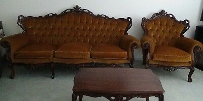 Antique 7 piece lounge suite