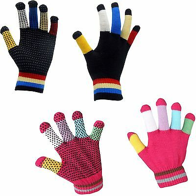 Red Horse Equestrian Magic Multi Knitted Lightweight Breathable Stretchy Glove