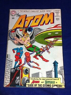 The Atom #7 DC Silve Age 1963 Higher Grade