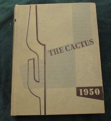 1950 University of Texas At Austin Yearbook The Cactus