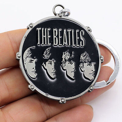 New The Beatles Band Design Metal Keychain Keyring