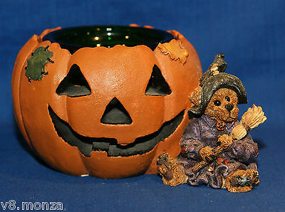 1993 Boyds Collection ☆ Emma The Witchy Bear ... Pumpkin Magic Boxed Reg $44.99