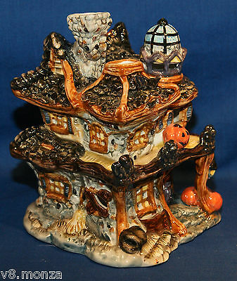 Boyds Collection ☆ Boobear's Spook-N-Sparkle Haunted House ☆ # 395051 With Box