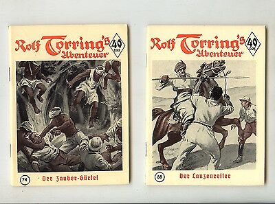 Rolf Torring`s Abenteuer Nr. 71-100 (0-1)+(0-1/1) Top in 3 Original Sammelmappen
