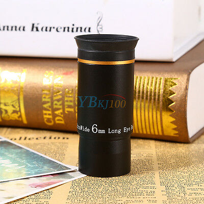 """1.25"""" Ultra Wide Angle Eyepiece Lens Focal Length 6mm Muti-Coated For Telescope"""