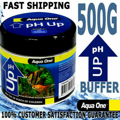 Aqua One Aquarium Fish Tank Quick Drop PH Up Powder Buffer 500g