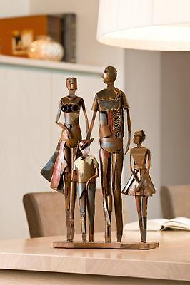 Timeless Design Picasso Stylised Metal Abstract The Family Sculpture 46cm