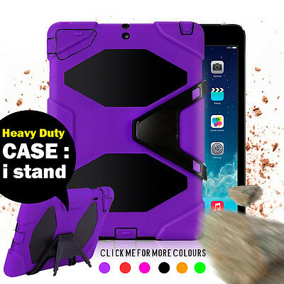 Kids Heavy Duty Shock Proof Case Cover for iPad 3 2 Mini 4 Air 1 Pro 9.7 12.9