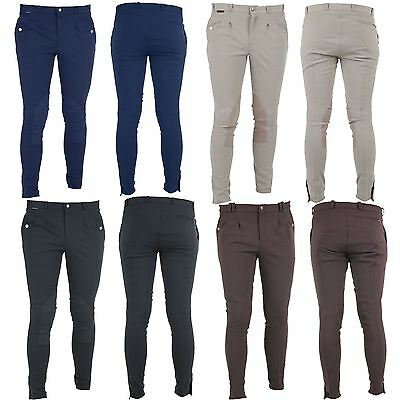 Horka Equestrian Mens Mallorca High Waist Seatseam Breathable Riding Breeches