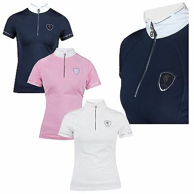 Horka Equestrian Ladies Kids Starlight Quick Dry Breathable Competition Shirt