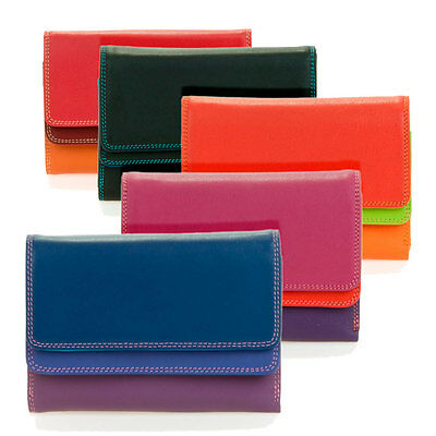 Leather Double Flap Purse/Wallet 250 - MyWalit - Various Colours Available