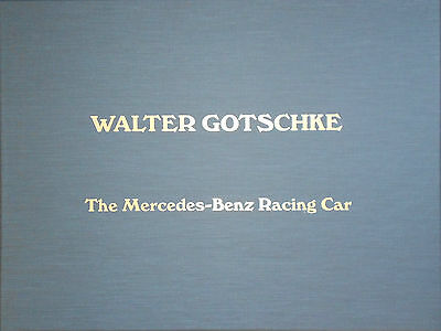 Walter Gotschke and the Mercedes-Benz Racing Car Boxed Set With (29) Prints