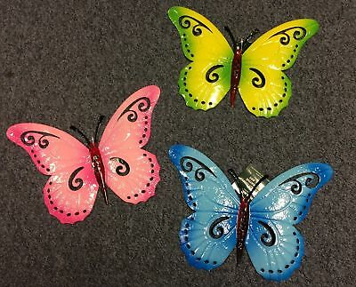 New Metal Butterfly Wall Decoration Wall Art Butterflies Outdoor Garden