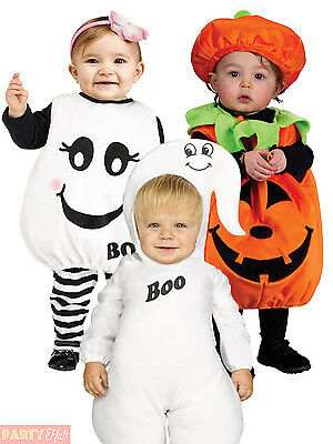 Baby Toddler Halloween Costume Childrens Kids Ghost Pumpkin Fancy Dress Outfit