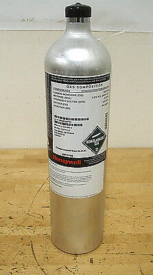 Honeywell CG Q58 4 Calibration Gas, Use by 04/13/2018