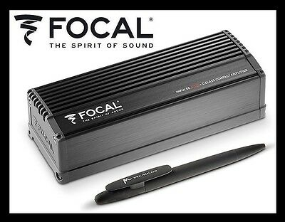 Focal Impulse 4.320 Ultra-Compact Class-D 4/3/2-Channel, Brand New, Big Sale