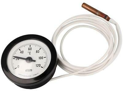 TK-CP99 Sensor thermometer with capillary Body dim Ø52x22mm max.65°C