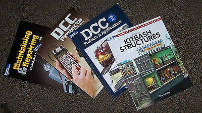 4 Model Railroader How-To Books, Dcc And Others!  Great Info!