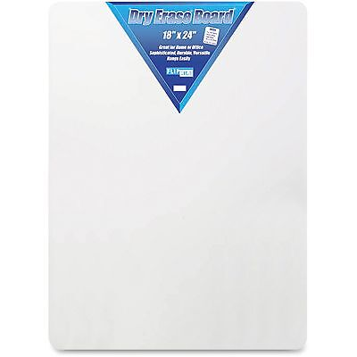 "Flipside Products Dry Erase Board 18""x24"" White 10085"