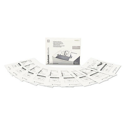 """GoECOlife Shredder Lubricant Sheets 8 1/2"""" x 10 49/50"""" 12 Sheets/Pack GLL12"""