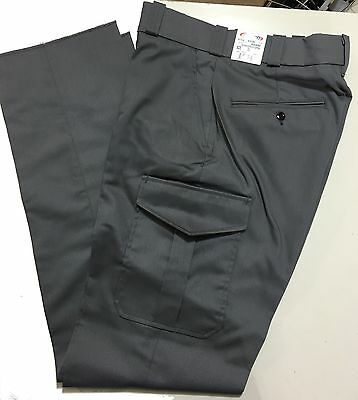Wholesale Lot of 20 pairs of Grey Mens Cargo Pants Elbeco Uniform E7019R 32 - 48
