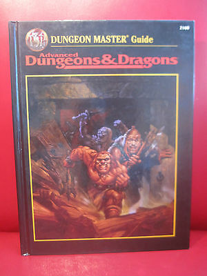 DUNGEON MASTER GUIDE Dungeons & Dragons 2nd Edition AD&D D&D TSR 2160