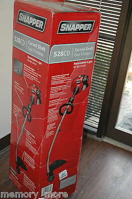 brand new Snapper Curved Shaft Gas Trimmer Red - S28CD