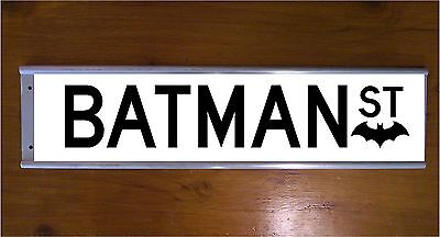 Batman Street Sign Road Bar Sign - Christmas Gift