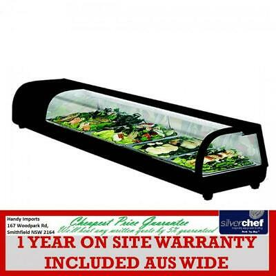 Fed Commercial Sushi Showcase Display Fridge Unit Show Case Event Seafood Sss4