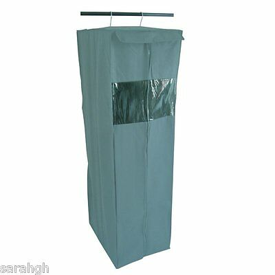 Protect clothes in the wardrobe. Breathable cover. Internal hanging rail / frame