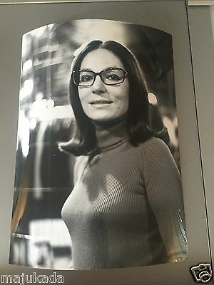 NANA MOUSKOURI  - PHOTO DE PRESSE ORIGINALE  24x18 cm