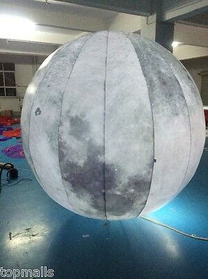 2M Led Lighted Inflatable Moon Ball for Outdoor Promotion