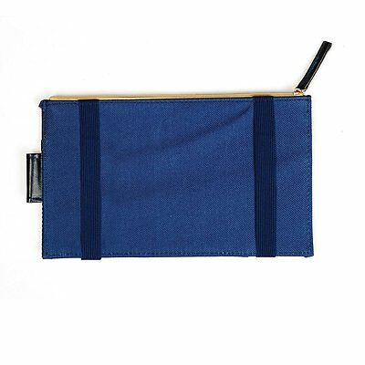 Blue Sun Visor Car Storage Organiser Pocket Bag - By TRIXES
