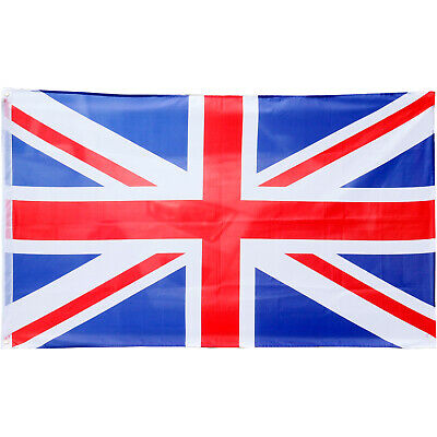 Large Great Britain Union Jack 5ft x 3ft Olympic Games Flag- By TRIXES