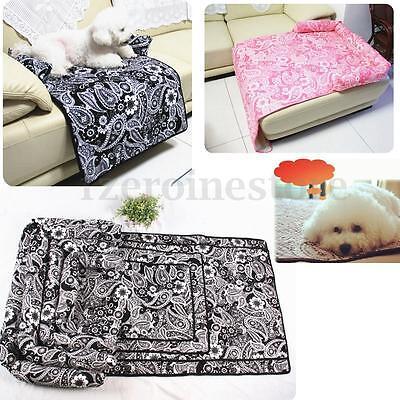 Pet Dog Cat Soft Warmer Sofa Bed Mattress Cushion Couch Kennel Puppy Pad Mat