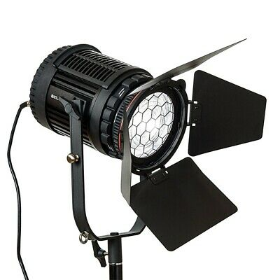 CN-60F 60W LED Fresnel Light CRI 95+ Spotlight Continuous Lighting for Video