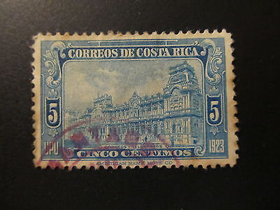 1923/26 - Costa Rica - General Post Office - Scott 121 A74 5C