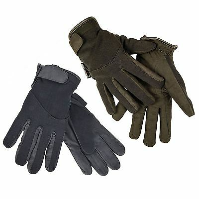 HKM Equestrian Ladies Thinsulate Winter Stretch Breathable Horse Riding Gloves