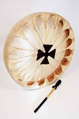 """Native American Style Thunder Drum, 16"""""""