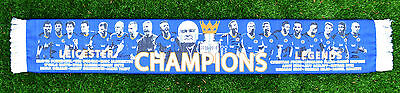 New Leicester City Player Champions Legends Scarf 2015-16 Exclusive To Partisan