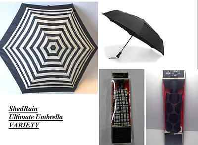 NEW ShedRain Ultimate Umbrella w/Carry Case - VARIETY