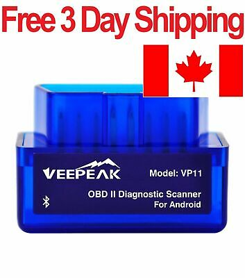 Veepeak Bluetooth OBD2 Scanner for Android - OBD 2