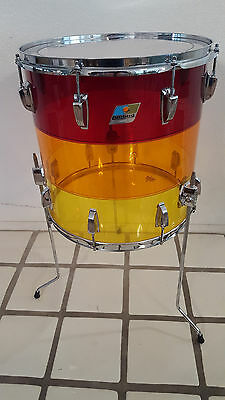 Vintage ludwig floor tom 16 x16 1970 cad for 16 x 12 floor tom