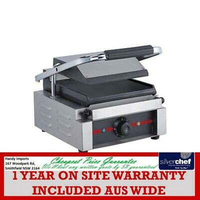 Fed Commercial Large Contact Grill Sandwich Press Griddle D Gh-811E