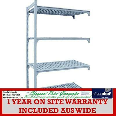 Fed Commercial Four Tier Shelving Cool Room Pe Coated Steel Add-On Kit Psa18/36