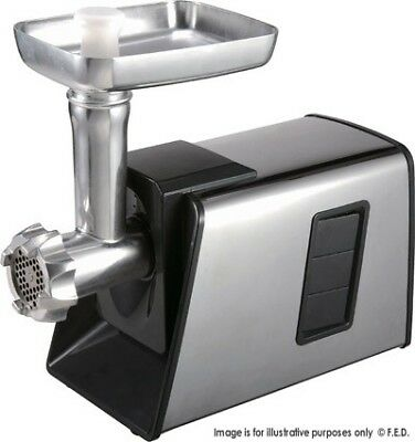 Fed Commercial Light Duty Meat Mincer Suasage & Kubbe Attachment Reverse Sm-G73