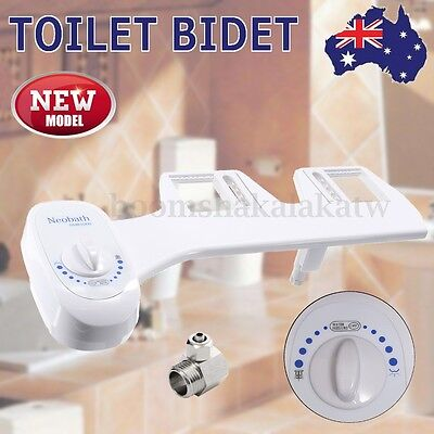 Smart Easy Toilet Bidet Seat Non Electric Washlet Shattaf Sprayer Water Unisex