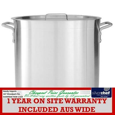 Fed Commercial Stockpots Aluminium With Pouring Lip Stock Pot T61440 40L